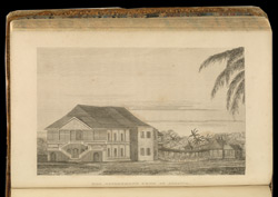 Illustration showing the 'Government Penn in Jamaica'